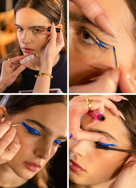 tutorial maquillaje doble eyeliner