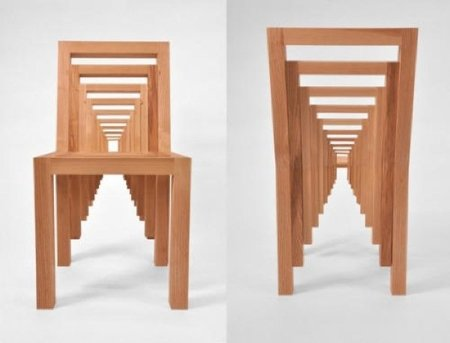Una silla inspirada en la película 'Origen'