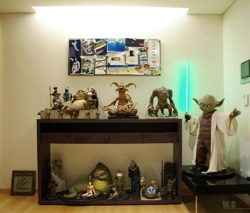 Foto de La casa de un fan de Star Wars con gusto (10/14)