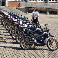 La Policía Nacional se refuerza con 22 motos eléctricas, la Zero DSR, que pasan de 0 a 100 km/h en 3,3 segundos