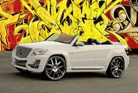 Los Mercedes-Benz GLK del SEMA Show