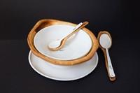 Carmen Buttjer diseña una vajilla de pan