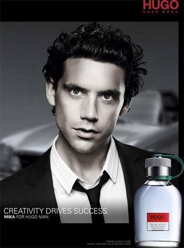 Mika, nueva imagen de la fragancia de Hugo Boss