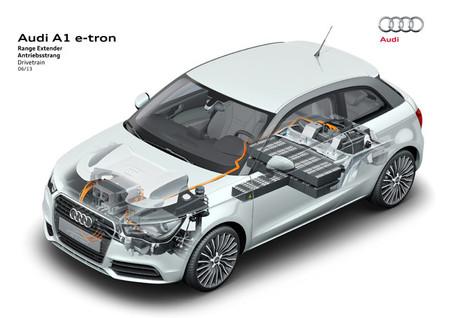 Estructura Motor Audi A1 e-tron