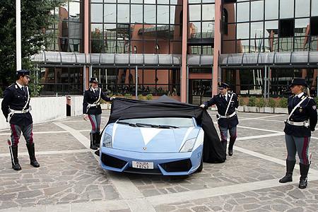 Reemplazo para el Lamborghini Gallardo de la Polizia italiana