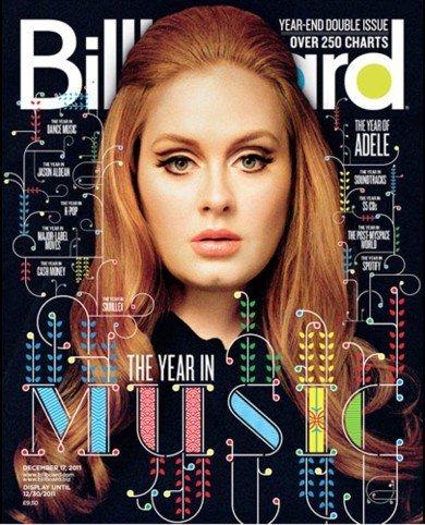 Adele, la mujer récord que Billboard tan bien conoce