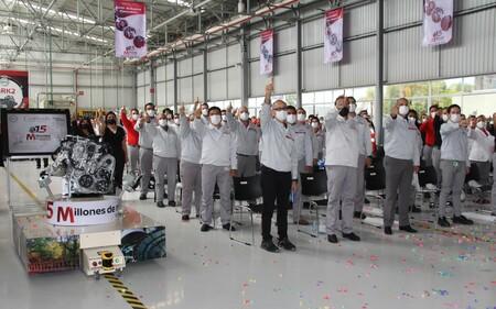 Nissan Mexicana logra los 15 millones de motores producidos en A1