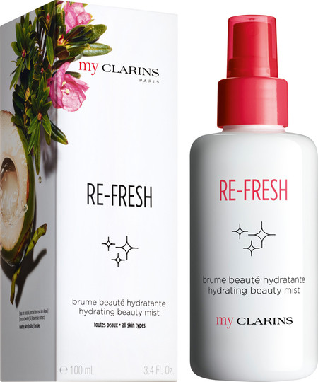 Clarins My Clarins Re Fresh Hydrating Beauty Mist 100ml With Box