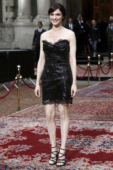 Todas las invitadas a la fiesta del 20 Aniversario de Dolce Gabbana: Rachel Weisz