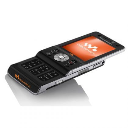 "Sony Ericsson W910i with ""Shake Control"" for Movistar"