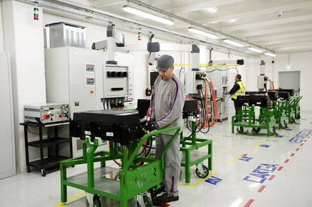 PSA Peugeot Citroën Vigo, control de calidad de baterías