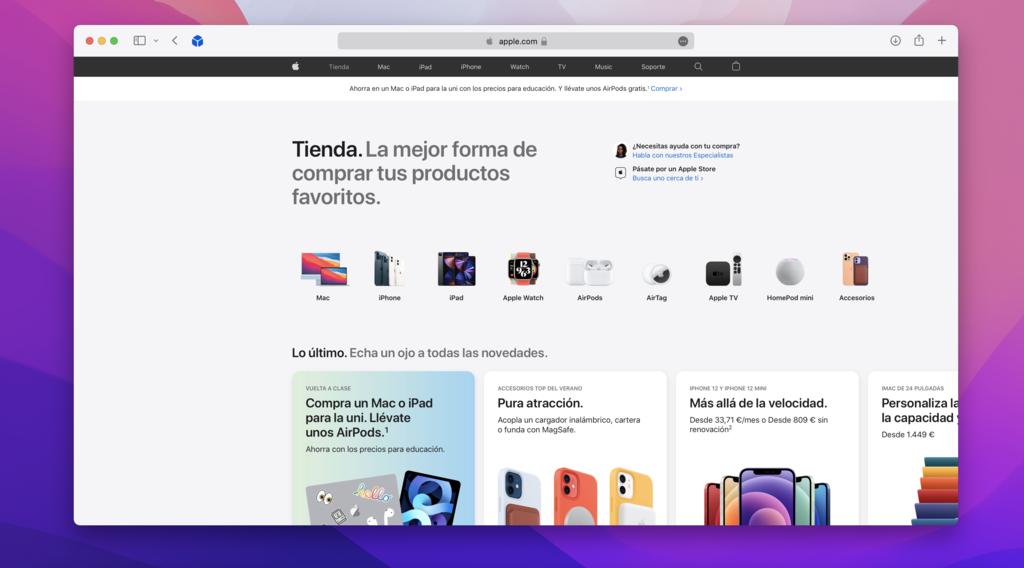 Así es la nueva <strong>Apple℗</strong> Store online: dónde adquirir todo lo que requerimos de Apple»>     </p> <p>Tal como hemos visto esta mañana <strong>Apple℗</strong> <a href=