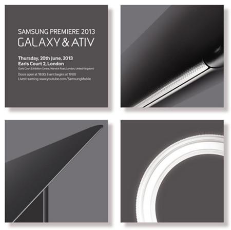 Samsung anuncia un evento para mostrar nuevos dispositivos Galaxy y Ativ el 20 de Junio