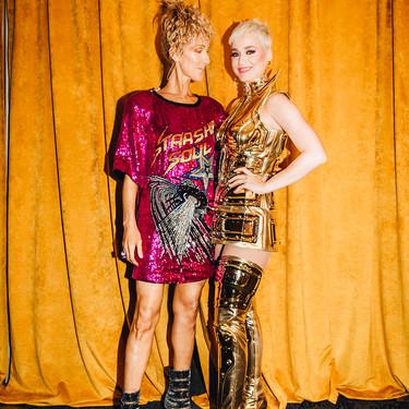 Katy Perry y Céline Dion presentan, probablemente, uno de los mejores posados que hemos visto en mucho tiempo