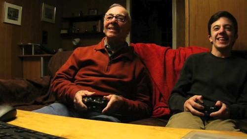 Abuelos gamers: la edad y los videojuegos no son incompatibles