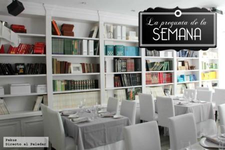 ¿Qué importancia le das a la decoración en un restaurante? La pregunta de la semana
