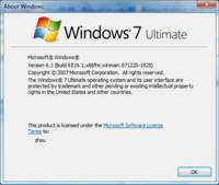 Nuevas capturas de pantalla de Windows 7