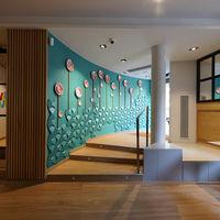 La rehabilitación del restaurante Viu by Tapiñas, en Terrassa, mantiene la esencia original de la finca