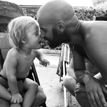 Cuando Luca adoptó a Alba, una bebé con síndrome de Down rechazada por más de 20 familias