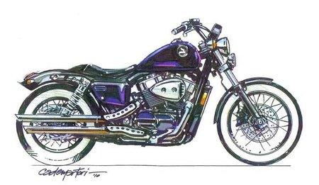 Honda Shadow by Cobra, Bobber