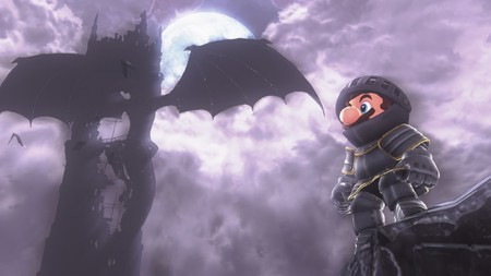 Super Mario Odyssey Dark Souls