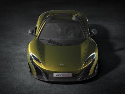 Vendidos los 500 McLaren 675LT Spider en tiempo récord
