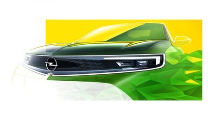 Opel Mokka-e: el SUV eléctrico lucirá un frontal con guiños al clásico Opel Manta, pero preparado para la conducción autónoma