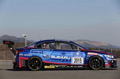 Subaru WRX STI NBR Challenge 2015, corriendo las 24 Horas de Nürburgring con el 70% de las piezas de calle