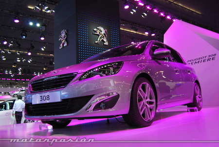 Salón de Frankfurt 2013 - Peugeot 308