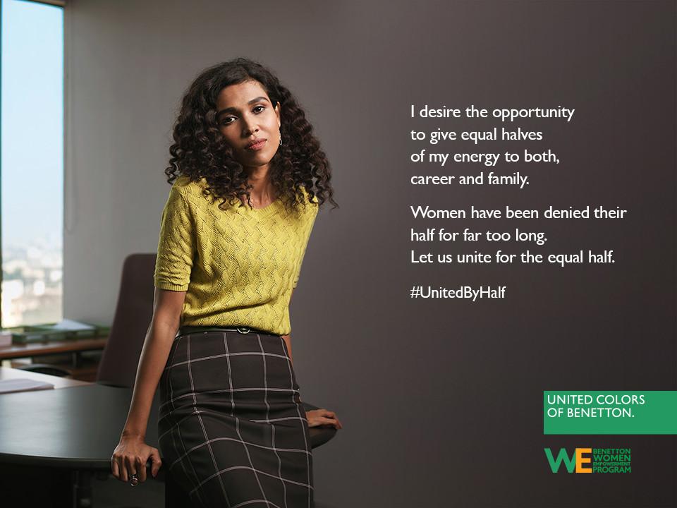 Foto de Hoy es Día Internacional de la Mujer y Benetton lucha por la igualdad entre hombres y mujeres (15/19)
