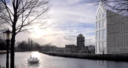 3D Print Canal House, un edificio impreso en 3D que quiere ser parte del paisaje de Amsterdam