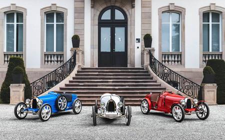 El Bugatti Baby II es una réplica eléctrica de un modelo mítico en las carreras de coches y sólo se fabricarán 500