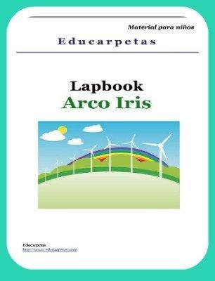 Lapbook sobre el arcoíris de Educarpetas