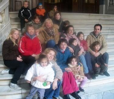 Al Museo Geominero con los niños