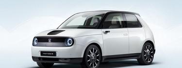 El Honda e está listo: un juguete eléctrico de tracción trasera y 0 a 100 km/h en 8 segundos
