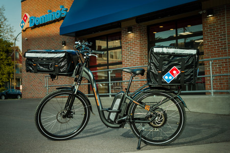 Domino Pizza Bicicleta Electrica 3