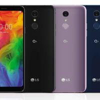 LG Q7: pantalla 18:9, resistencia al agua IP68 y HiFi QuadDAC para diferenciarse en la gama media por el sonido