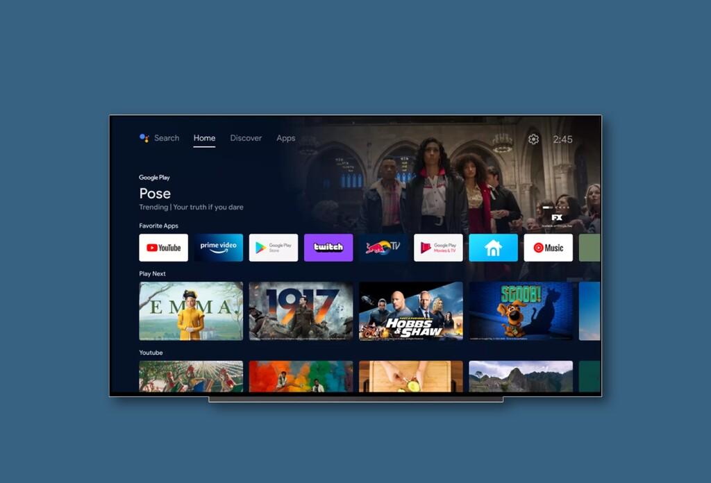 Android TV se actualiza con nueva interfaz, difumina aún más la línea que lo separa de Google TV