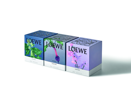 Loewe Ivy Beetroot Luscious Pea Scented Candles Pakaging