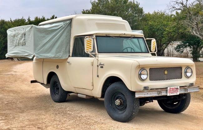 Turismo hipster nivel: Camper 4x4 de 1963 con retrete, cocina y dos camas por sólo 2.000 dólares