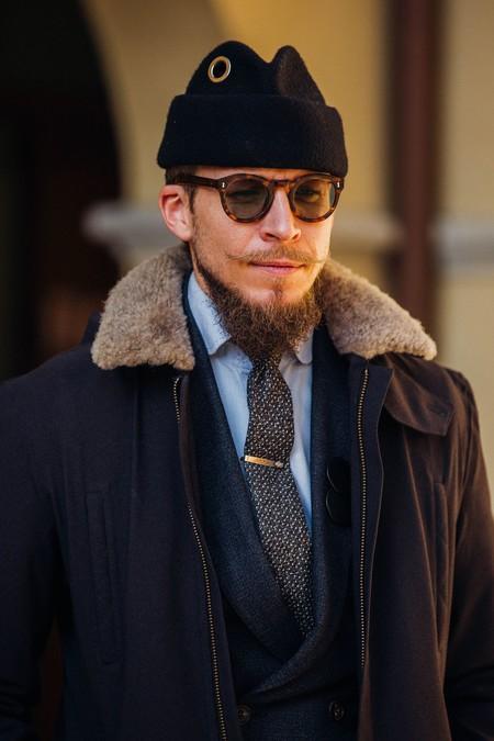 El Mejor Street Style De La Semana Chaqueta Abrigo Borreguillo Shearling Jacket 11