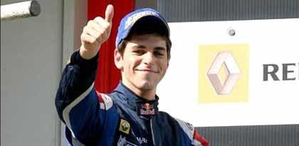 Alguersuari pulveriza el record de Nelsinho en la F3