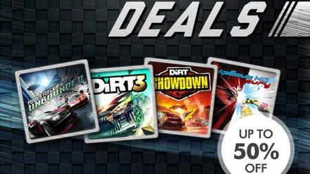 Playstation Store apuesta por las carreras para ofrecer ofertas muy rápidas sin salirse de la pista