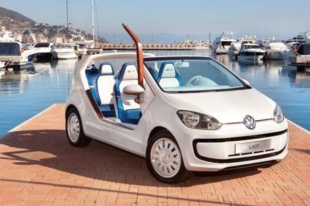 Giugiaro reinventa el Volkswagen Up! con el Azzurra Sailing Team