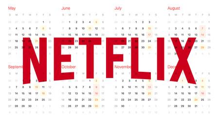 Los usuarios de Netflix han reproducido un total de 1.000 millones de horas semanales en 2017