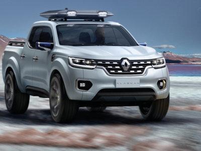 Renault Alaskan Concept: un adelanto de la pick-up global de Renault