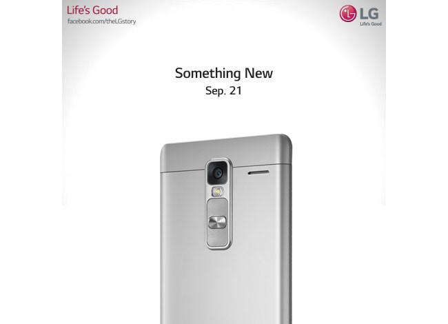 LG Class es un nuevo phablet de LG que apura su llegada para el 21 de septiembre