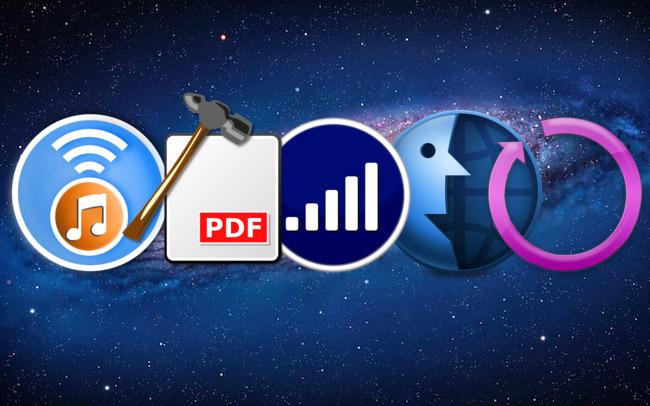 Cinco aplicaciones gratis OSX MacAppStore