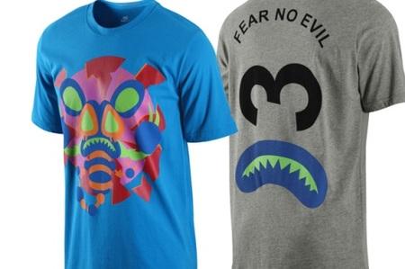 Camisetas divertidas de la mano de Nike y Casette Playa