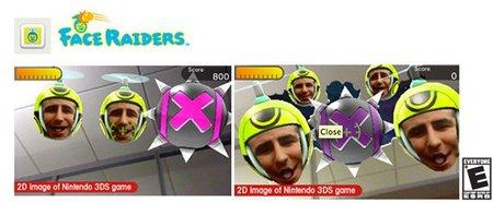 'Face Raiders', así funciona exactamente el shooter que incluye de serie Nintendo 3DS